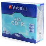 Verbatim 43415 CD-R DL SL/10 700MB, Записываемый компакт-диск