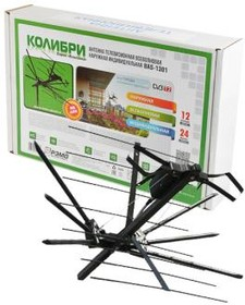 РЭМО BAS-1301 DX Колибри наружная с усилителем (без кабеля), Антенна