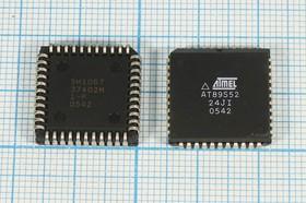 Микросхема 89S52-24JI\PLCC44 \контр\ATM\