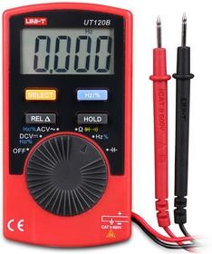 UT120B, Мультиметр цифровой, ультракомпактный