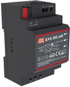 Фото 1/2 KNX-20E-640, Блок питания для шины KNX,30В,0.64А,19.2Вт