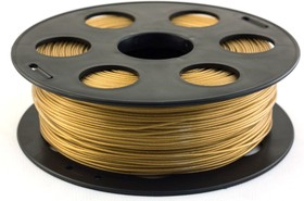 PLA-пластик 1.75 мм (1 кг) Золотистый металлик, Пластик для 3D принтера