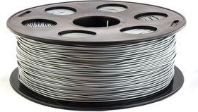 PLA-пластик 1.75 мм (1 кг) Серебристый металлик, Пластик для 3D принтера