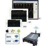 iDSO1070A, USB/WIFI осциллограф, 2 канала х 70МГц