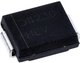 3.0SMCJ58A-13, 58V UNIDIRECTIONAL TVS DIODE 2-PIN SMC