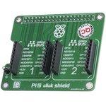 Фото 5/5 MIKROE-1879, Pi 2 click SHIELD, Плата расширения для подключения модулей mikroElektronika серии click (mikroBUS) к Raspber Pi B+/ 2