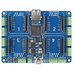 Фото 5/5 MIKROE-1793, Quail Board, Отладочная плата на базе STM32F427, плата объединяет модули click и Microsoft.NET