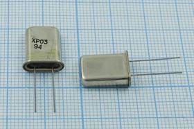 кварцевый резонатор 27.152МГц в корпусе HC43U=HC49U, 3-ья гармоника, 27152 \HC43U\\\\ХР03\3Г [МД]