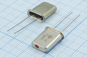 Фото 1/2 кварцевый резонатор 28МГц в корпусе HC43U=HC49U, 3-ья гармоника, 28000 \HC43U\S\\\РК374МД\ХСР 3Г